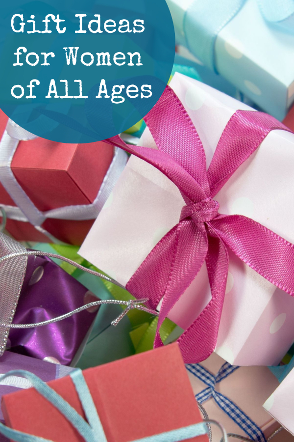 Great gift ideas for women of all ages. From your daughter or niece all the way to your grandmother, there's something for everyone.
