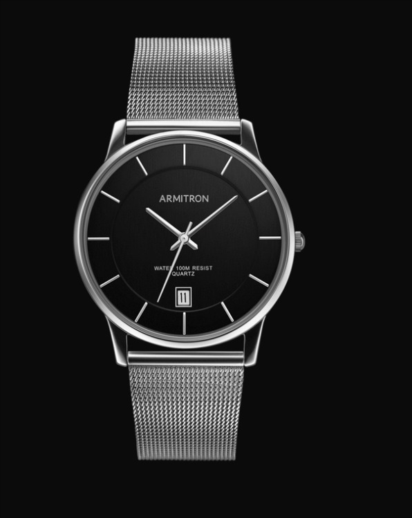 Armitron mesh bracelet watch for men
