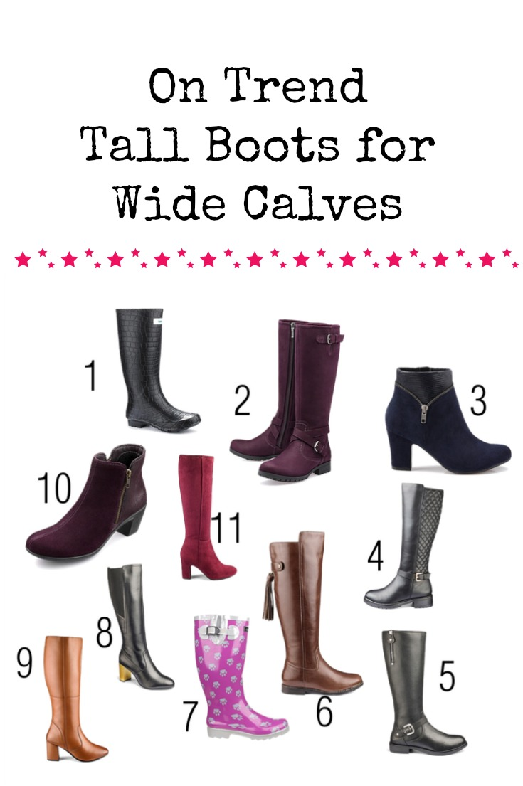 Being plus sized can be difficult. It doesn't have to be though, Check out these amazing stylish high boots for those with wide calves. These wide calf boots won't break the bank, either.