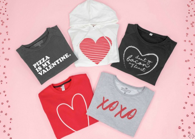 Valentine's Graphic Tees from Cents of Style