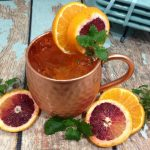 How to Make a Blood Orange Moscow Mule Cocktail