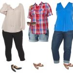 Kohls Mix and Match Plus Sized Wardrobe for Summer