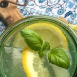 Refreshing Lemon Herb Spritzer Cocktail Recipe