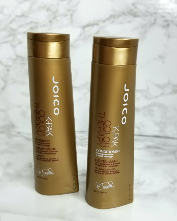 Joico Kpak shampoo and conditioner