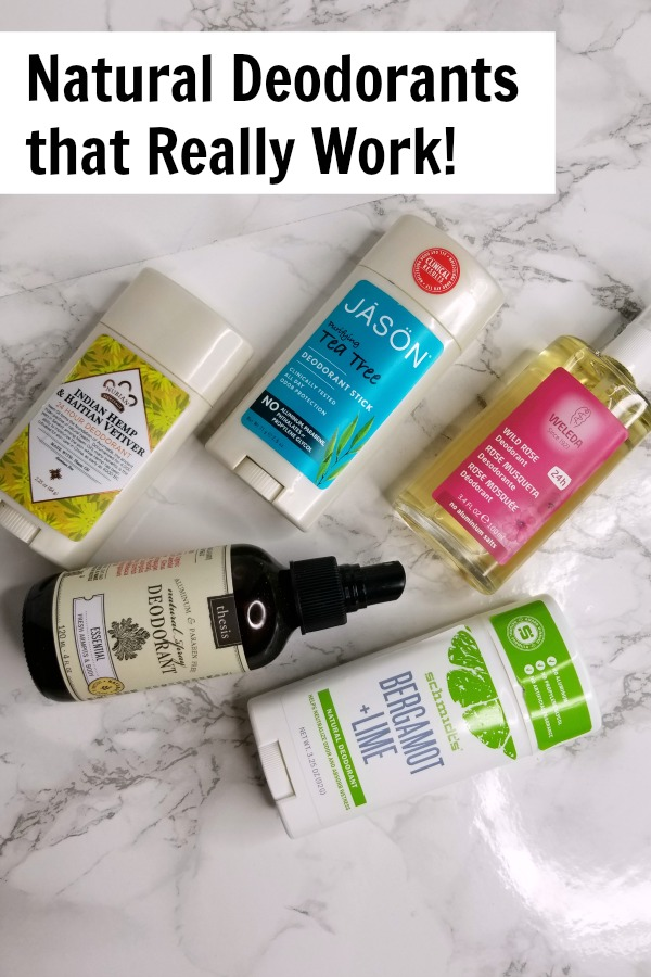 Natural deodorants have a bad reputation. Here are 5 options that really work well. Eco friendly | liquid | stick | spray | beauty | health