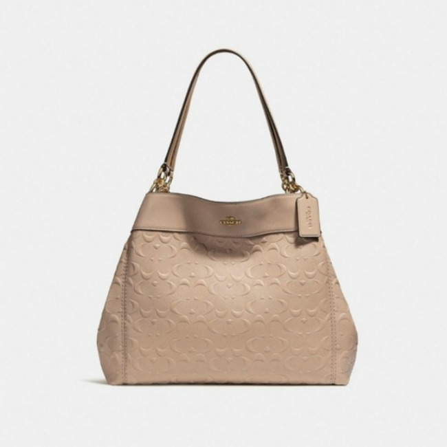 Enter to win a coach lexy leather bag