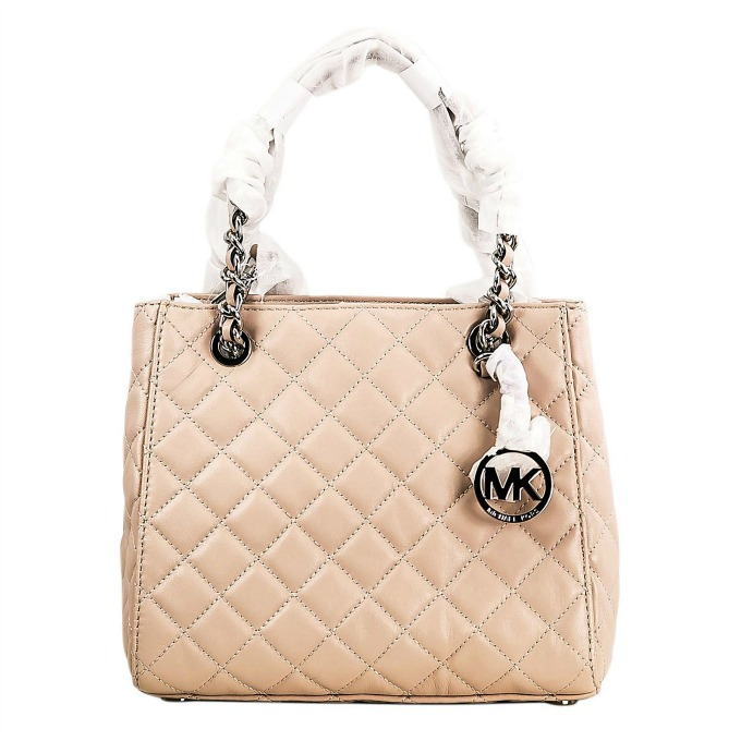 Michael Kors Susannah Quilted Leather tote