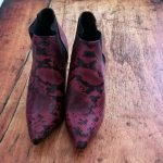 Why You Need these Faux Snakeskin Ankle Boots