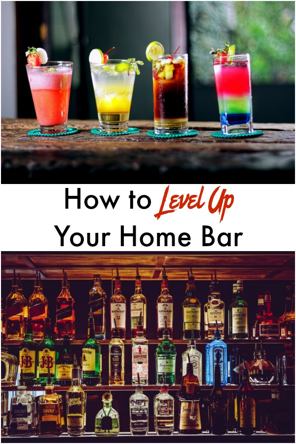 Easy tips and tricks to make your home bar amazing. Includes tools, gadgets, and ingredients you'll definitely want to consider.