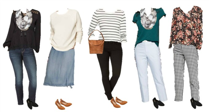 Target Mix and Match Wardrobe for