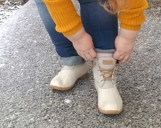 Winter Style with Sperry Duck Boots