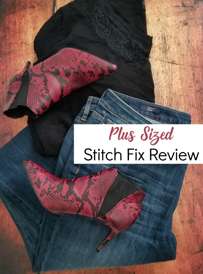 My first Stitch Fix Box and what I thought. From a Plus Sized Angle