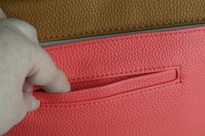 Design your own bag back pocket