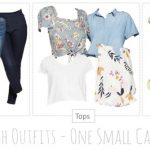 Spring Capsule Travel Wardrobe featuring Target