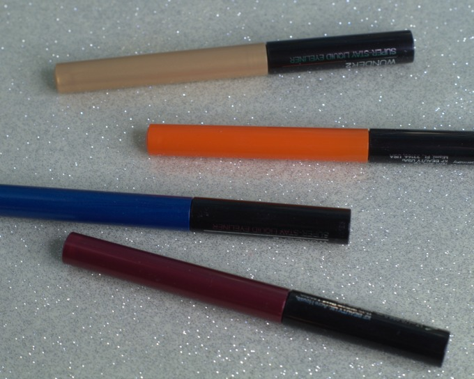 Super Stay liquid eyeliners from Wunder2