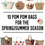 Must have pom pom bags from Amazon