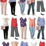 Kohls Plus Sized Mix and Match Capsule Wardrobe for Spring 2019 | Large Sized | Capsule Wardrobe | Curvy | Fashion