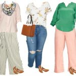 Target Plus Sized Mix and Match Wardrobe