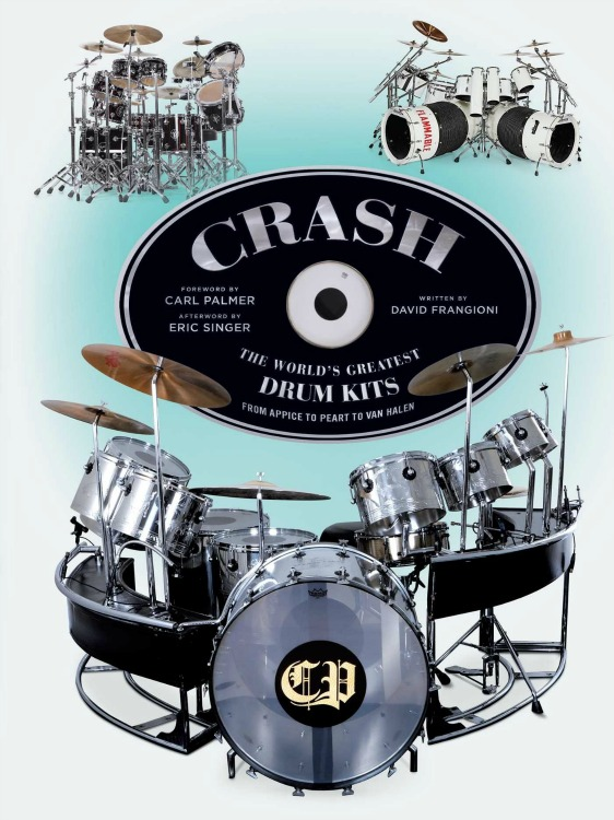 Crash Drum Kit Coffee Table Book