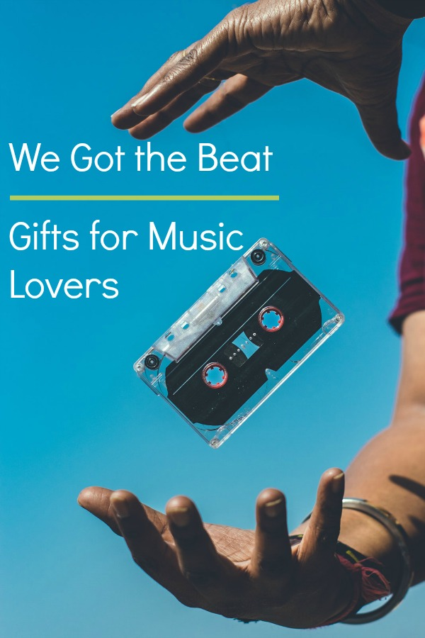 Great gift items that the music lover in your life is sure to enjoy