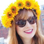 Fresh Sunflower Flower Crown Tutorial