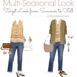 Transition Your Sleeveless Summer Outfit to Fall Easily