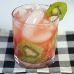 How to Make a Watermelon Kiwi Sparkler Wine Cocktail