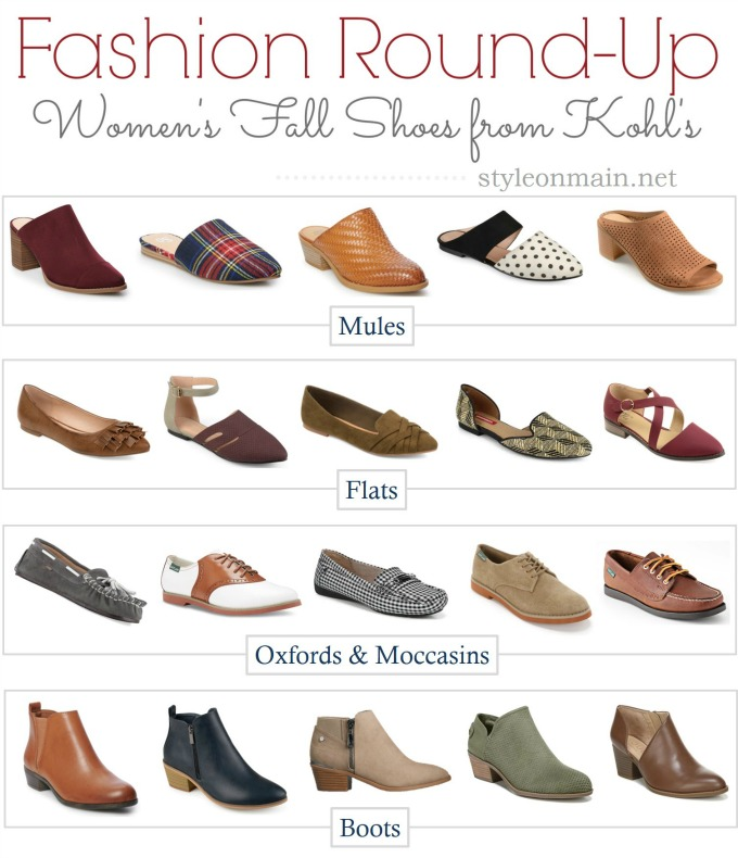 Kohls 2019 Fall Shoe Trends | Our Top Picks Style on Main