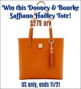 Dooney & Bourke Tote Giveaway