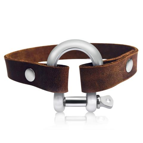 Gogh Leather Bracelet for Perseverance