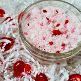 Valentine's Day Fizzing Bath Salts