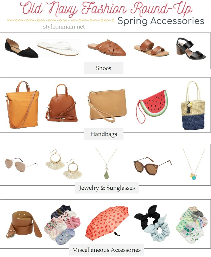 Old Navy Spring 2020 Accessories roundup