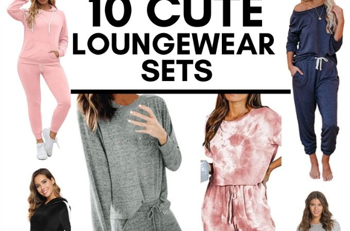 10 Loungewear and Pajama sets that are perfect for staying at home in style.