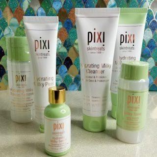 Pixi Milky Skincare Routine