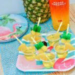Mango Pineapple Jello Shots