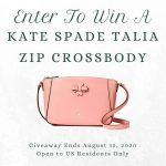 Kate Spade Talia Leather Crossbody Bag Giveaway