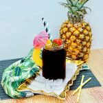 Summery Boozy Cola Pineapple Cocktail