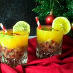 Delicious Holly Jolly Christmas Cocktail