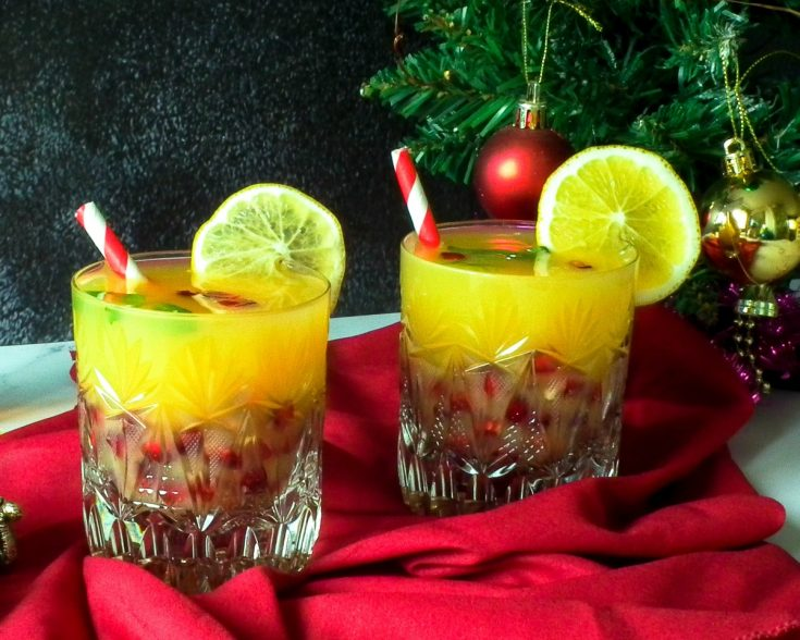 Holly Jolly Christmas Cocktail Recipe