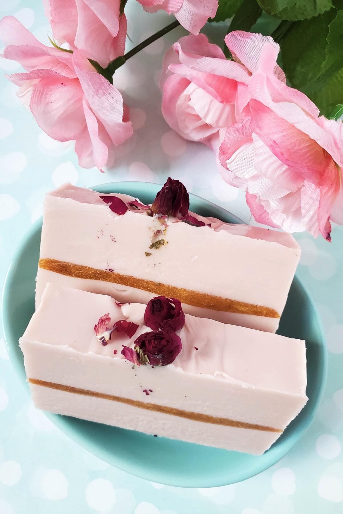 Golden Roase handmade soap tutorial