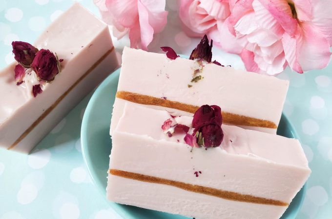 How to make Golden Rose Handmade Soap