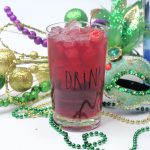 King Cake Cocktail Perfect for Mardi Gras