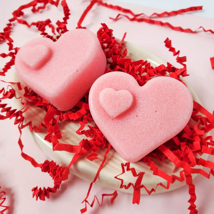 How to Make Valentine's Day Sugar Scrub Bars
