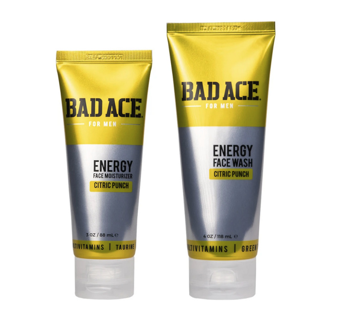 Bad Ace Citric Punch skincare for men