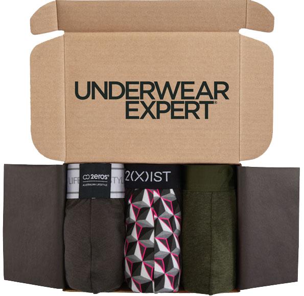Underwear Expert mens underwear subscription box